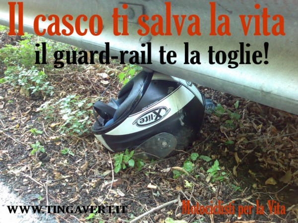 Guardrail anti motociclisti